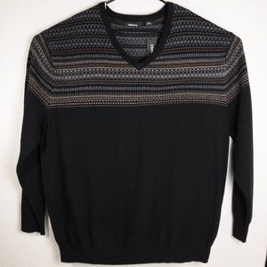 NWT Claiborne Big&Tall Pullover Wool Sweater 3XLT